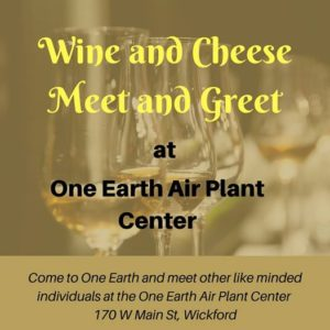 Wine and Cheese Meet and Greet at One Earth Air Plant Center @ One Earth Air Plant Center | North Kingstown | Rhode Island | United States